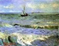 Seascape at Saintes Maries Vincent van Gogh